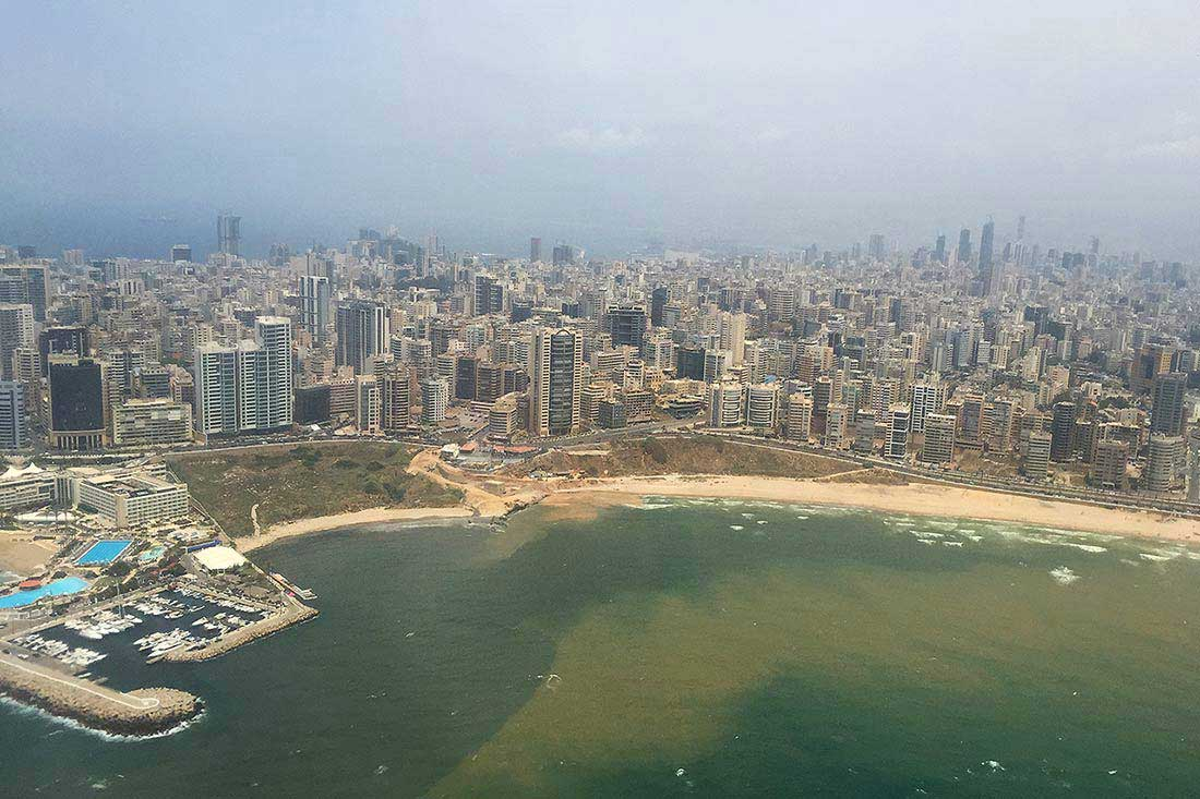 Beyrut 1. gün. Live Love Thank Lübnan seyahati.