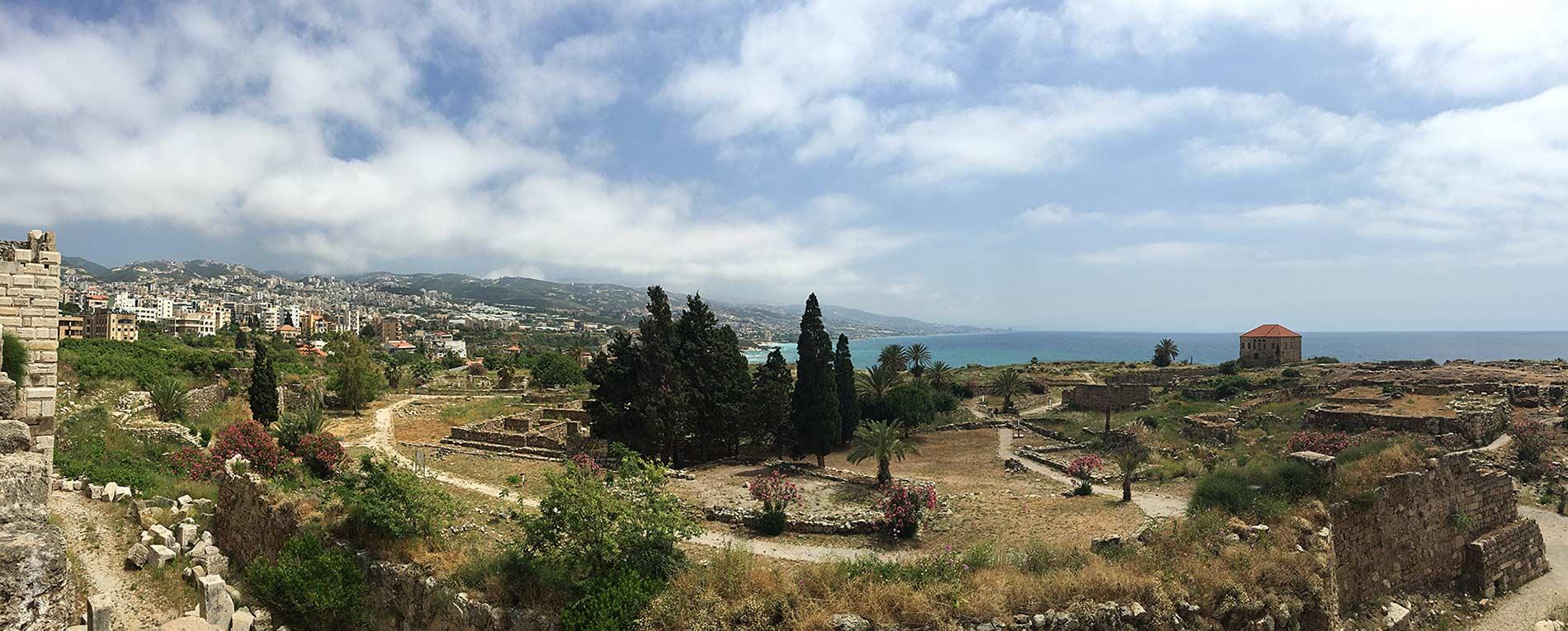 Byblos Kalesinden manzara. Fotoğraf: Umur Dilek