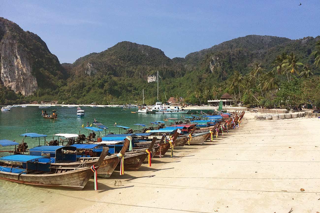 Phi Phi adası Tayland