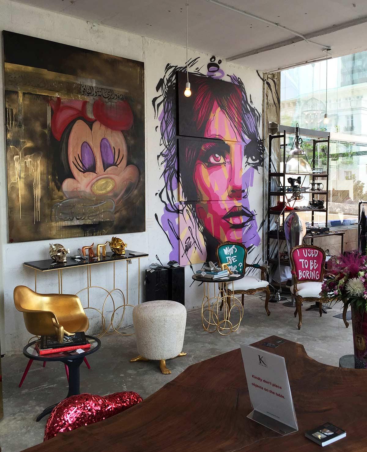 Sista Brown's Pop Up Store Beyrut