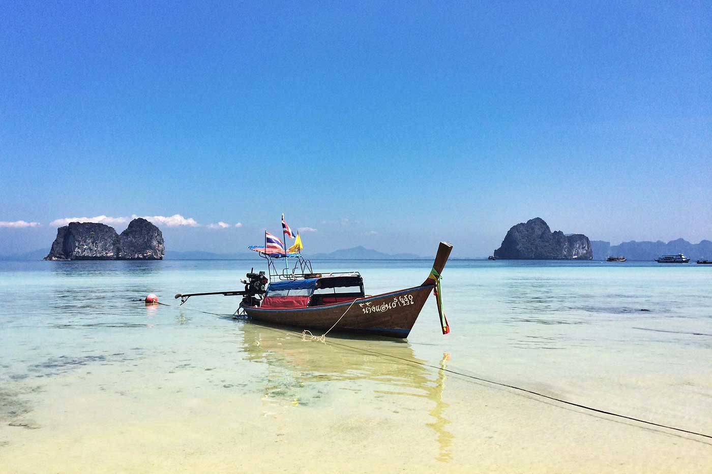 Koh Ngia Sahili, Andaman denizi Tayland
