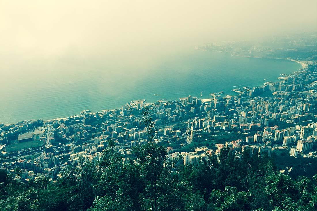 Teleferik jounieh, lübnan