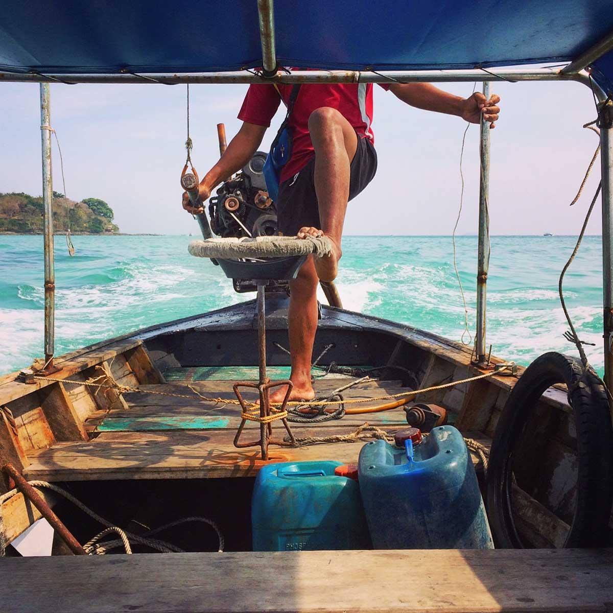 Longtail bot, Koh Phi Phi