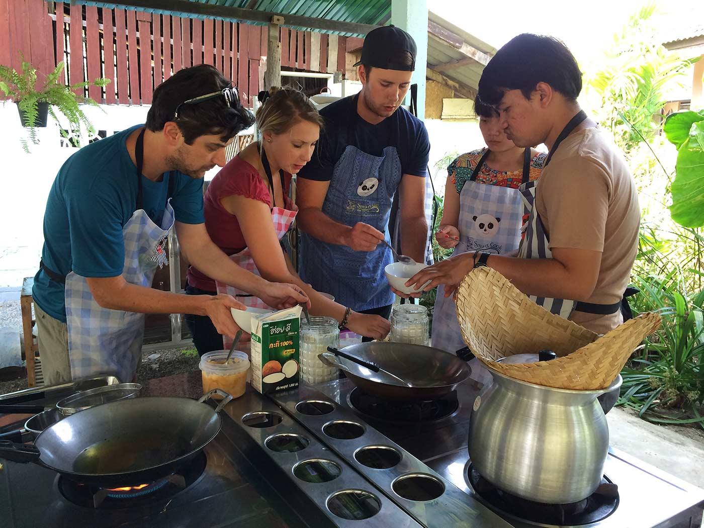 Chiang Mai yemek kursu