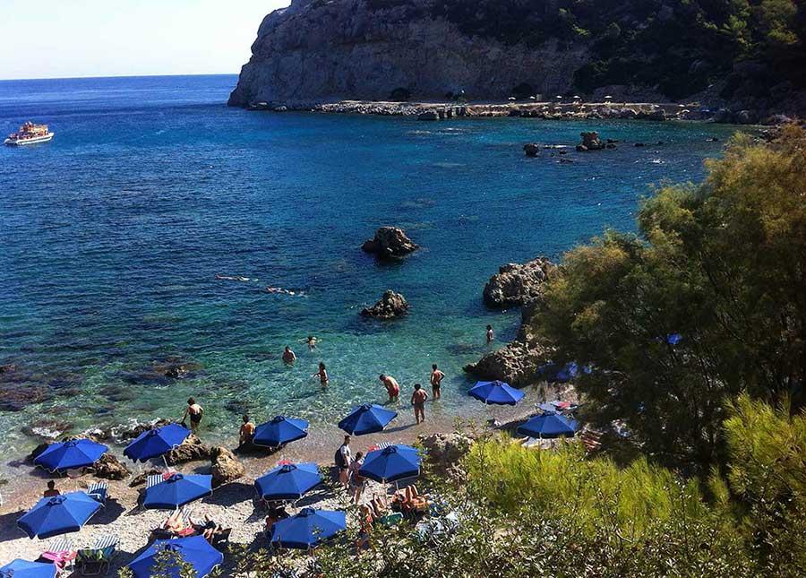 Antony Quinn plajı, Ladika Rodos