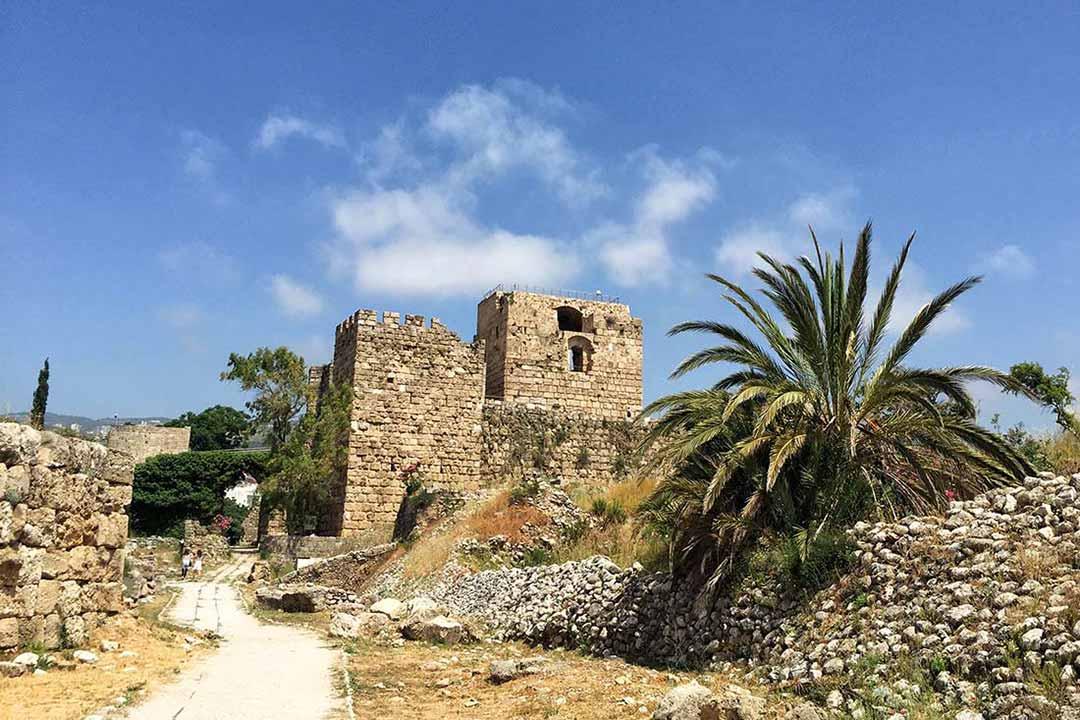 Byblos antik kenti Lübnan. Fotoğraf Umur Dilekd