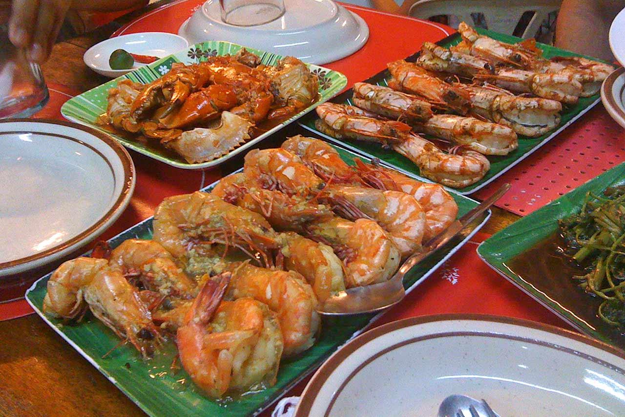 Filipinler'de bir Dampa restoranı