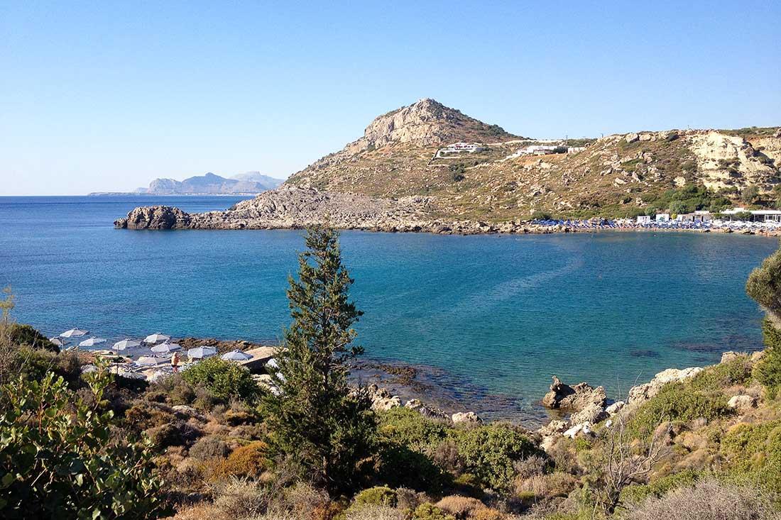 Ladiko plajı, Rodos