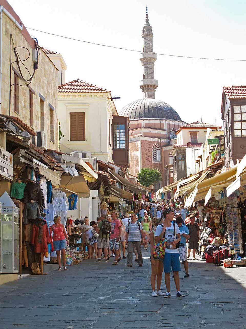 Rodos Eski Şehir, Çarsı. Rodos Gezi Rehberi - Live Love Thank