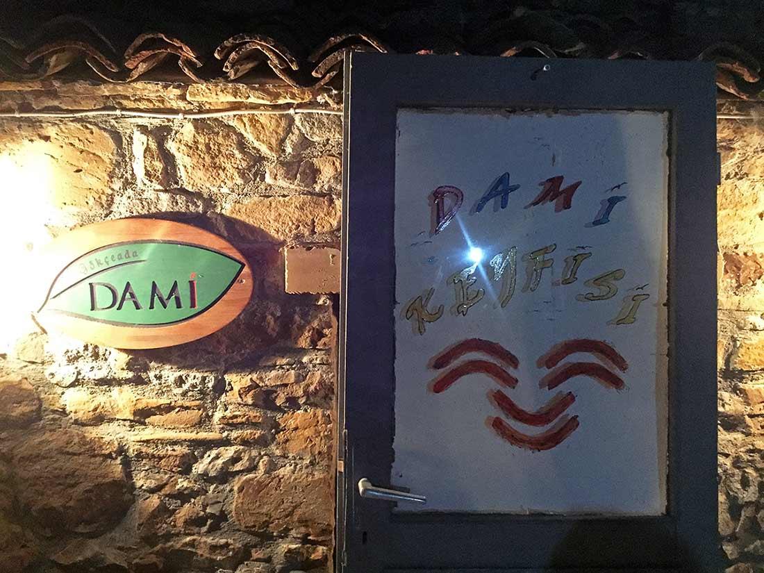 Gökçeada Dami Restoran, Gökçeada'da oğlak tandır.