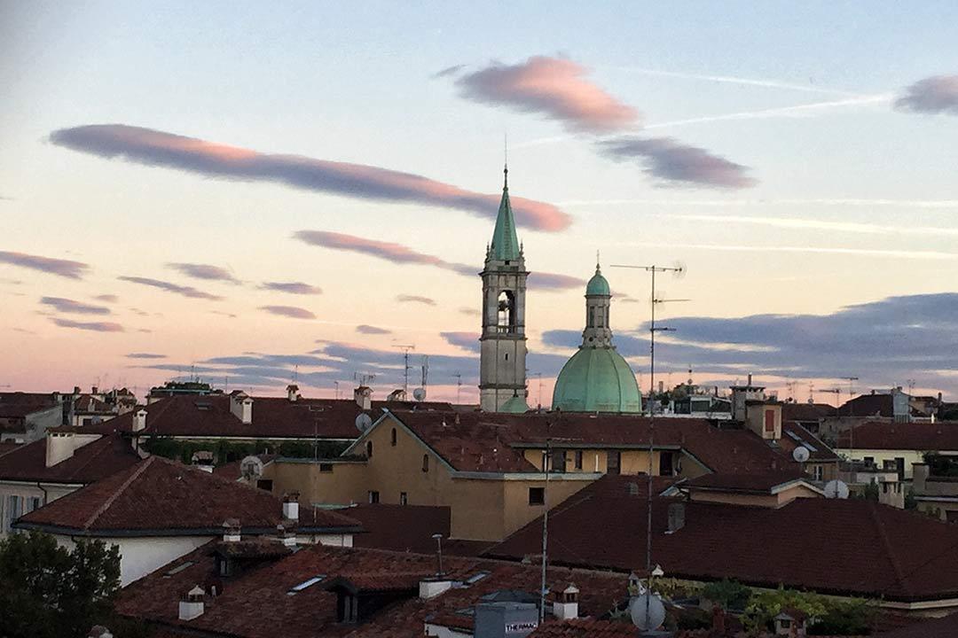 Santa Marta Suites terasından Milano