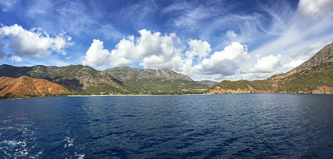 Tekneden Adrasan