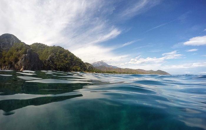 Olimpos denizinden Tahtalı dağı