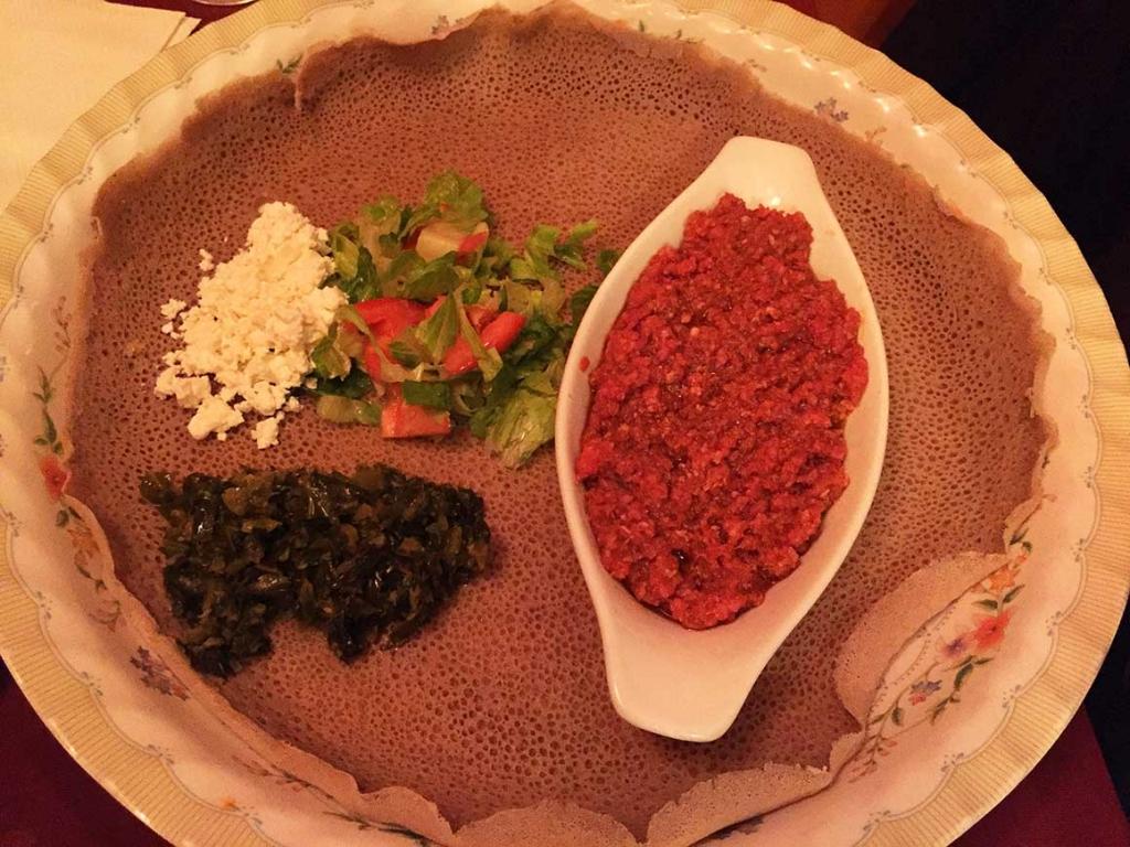Çok kültürlü Kanada'da Etiyopya yemeği