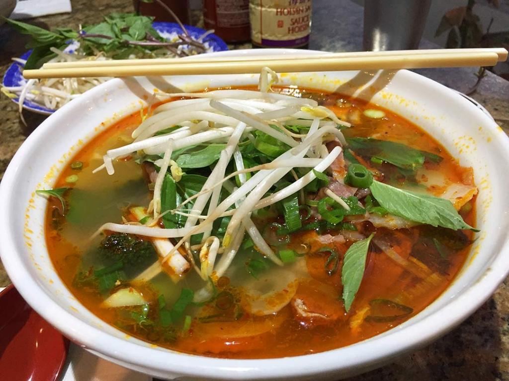 Vietnam çorbası Pho çok kültürlü