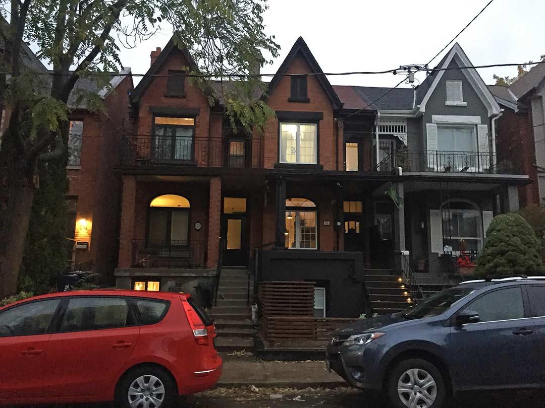Eskiden Torontoda yasadigim ev