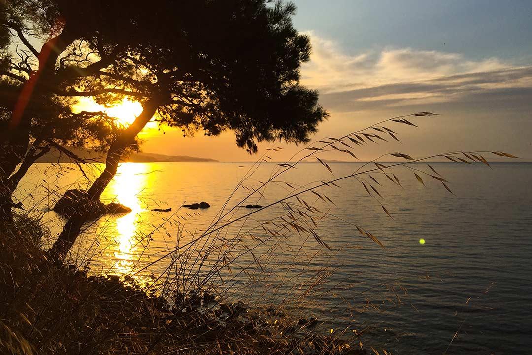Gökçetepe 'de gün batımı