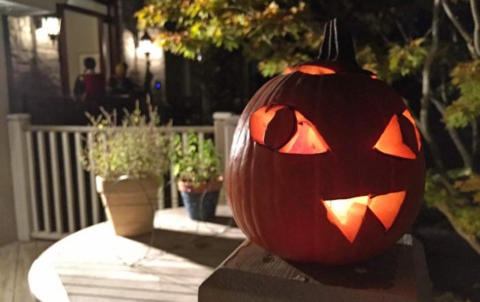 Halloween balkabağı