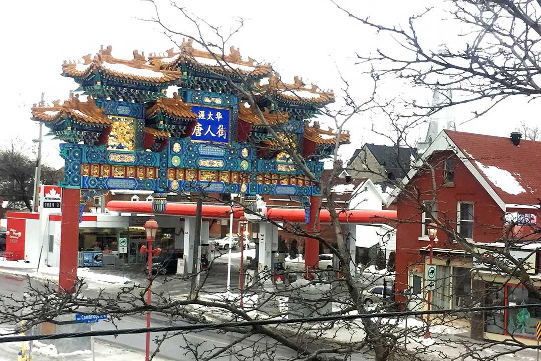 Toronto Çin_mahallesi