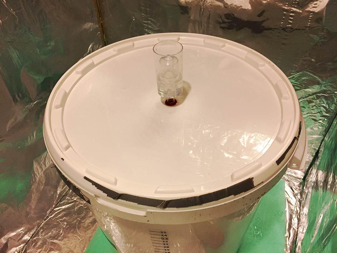 Buğday birası için Kristal hava kilidi