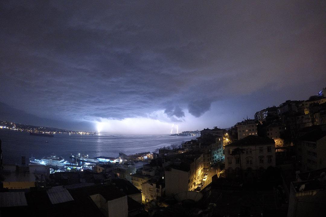 İstanbul'da fırtına, fotoğraf: Umur Dilek