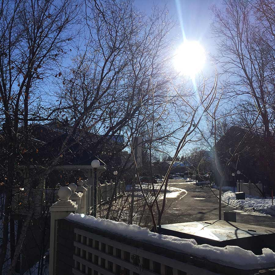 Toronto'da kış