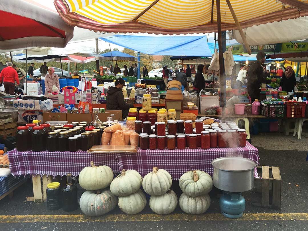 Maşukiye pazarı, Sapanca gölü gezisi