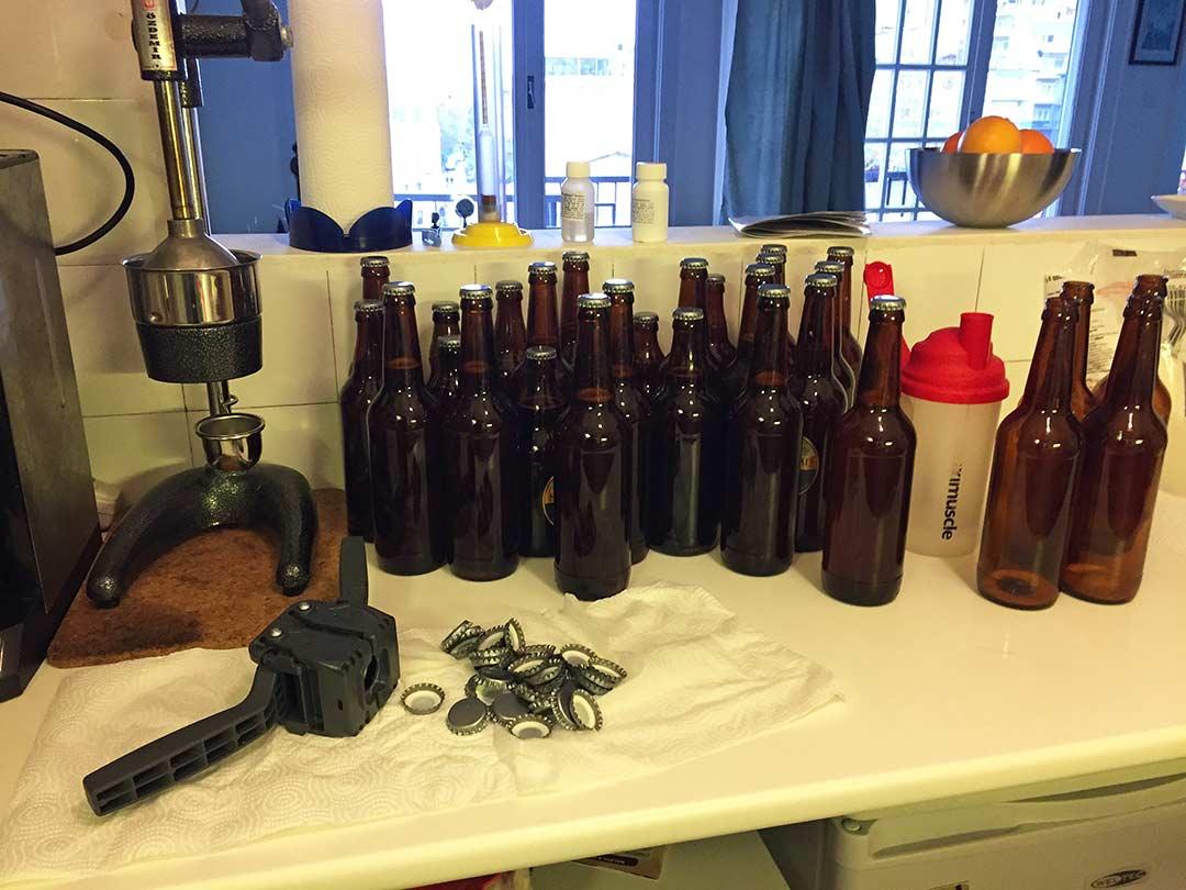Doldruduğumuz biralar, şişeleme