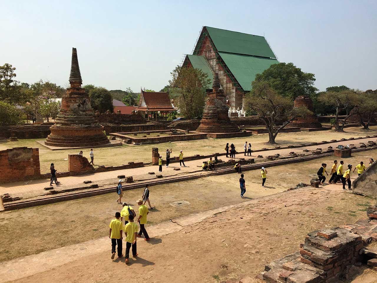 Ayutthaya, arabayla Tayland