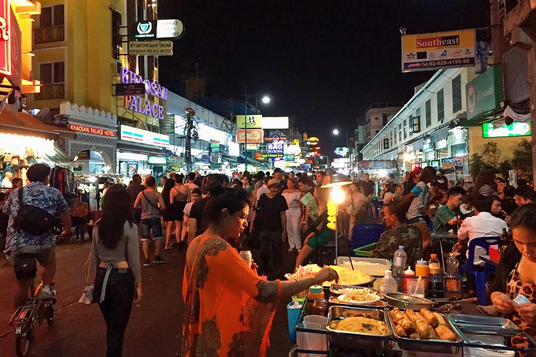 Khao San Road & 7/11 Bangkok