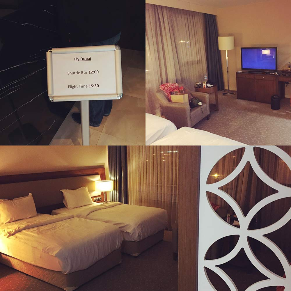 İstanbul'daki evimden çıkıp, Kurtköy'de zorulu kaldığım otel odam.