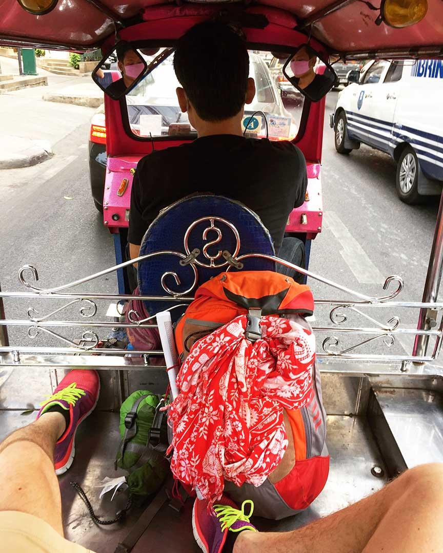 Tuktuk'suz olmaz... Pazarlık yapmadan da olmaz