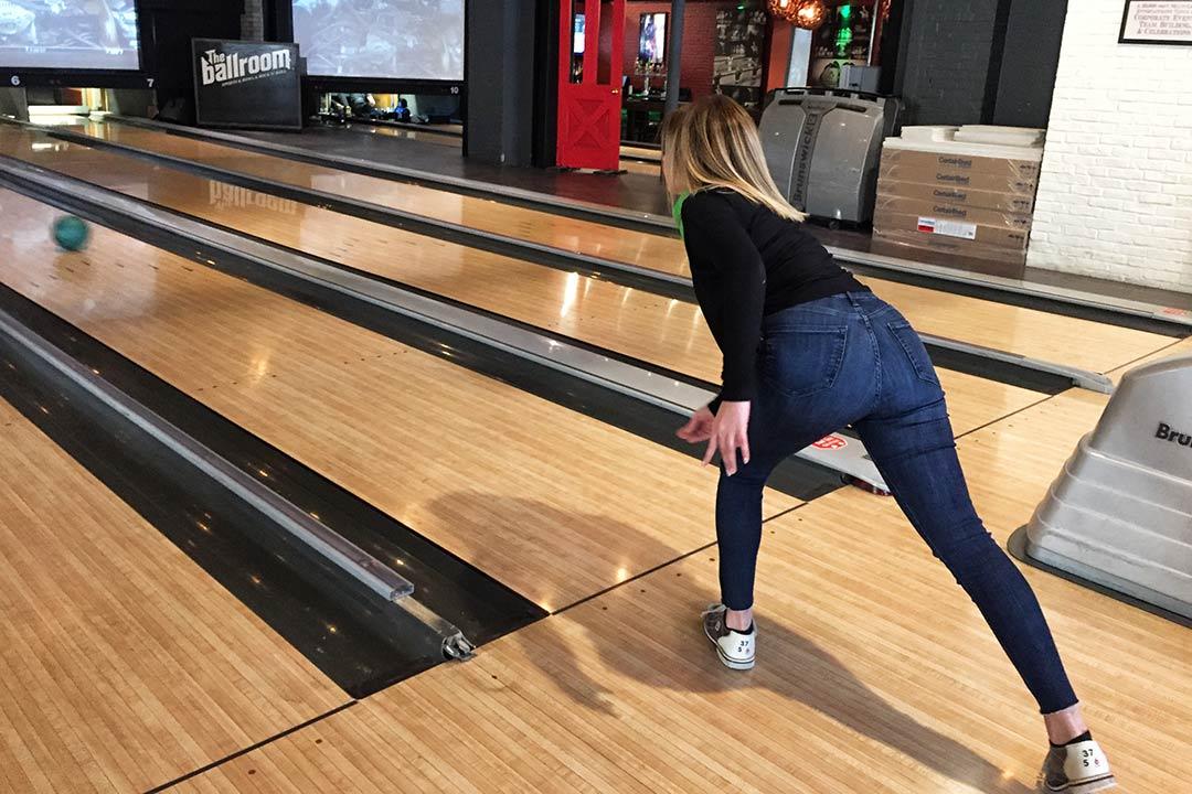 bowling duruşu