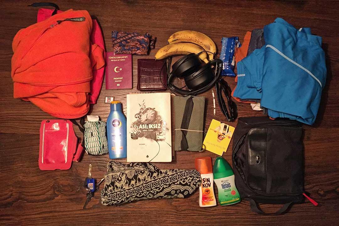 90 dakikada hazırladığım çantam, Bangkok yolunda