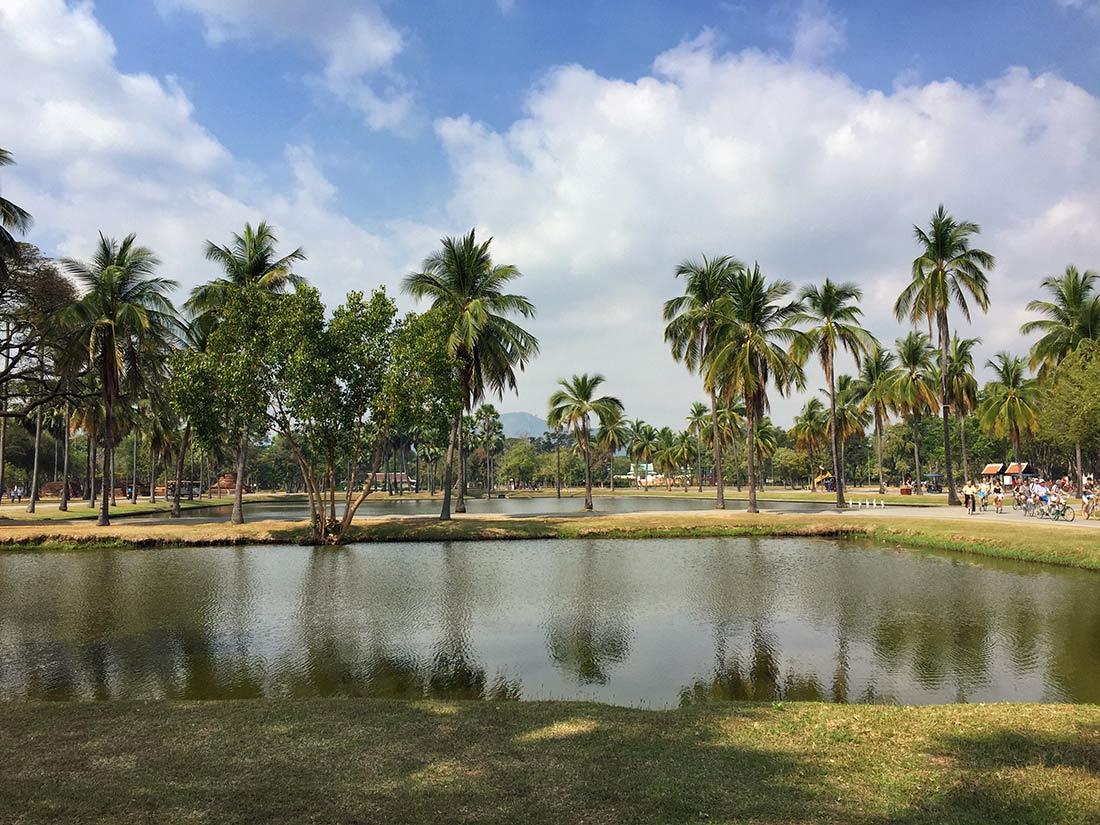 Sukthothai, arabayla Tayland