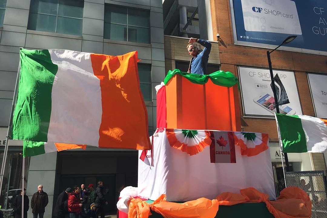 St. Patrick's Day yürüyüşü