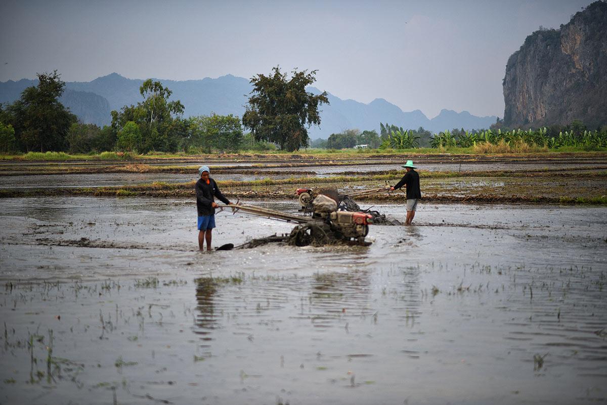 Kuzey Tayland'da, Kanchanaburi
