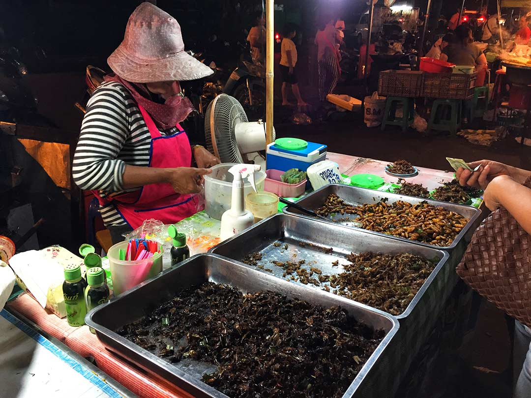 Gece pazarı, Ayutthaya