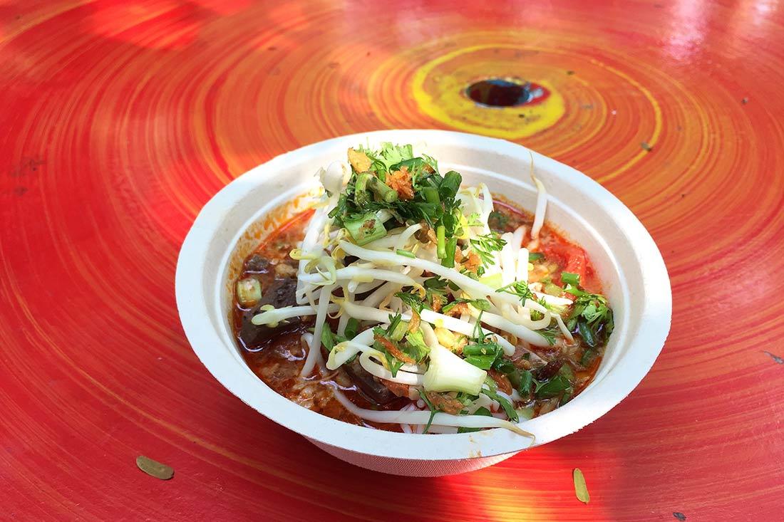 Tayland'da ne yenir, tom yam, yemek