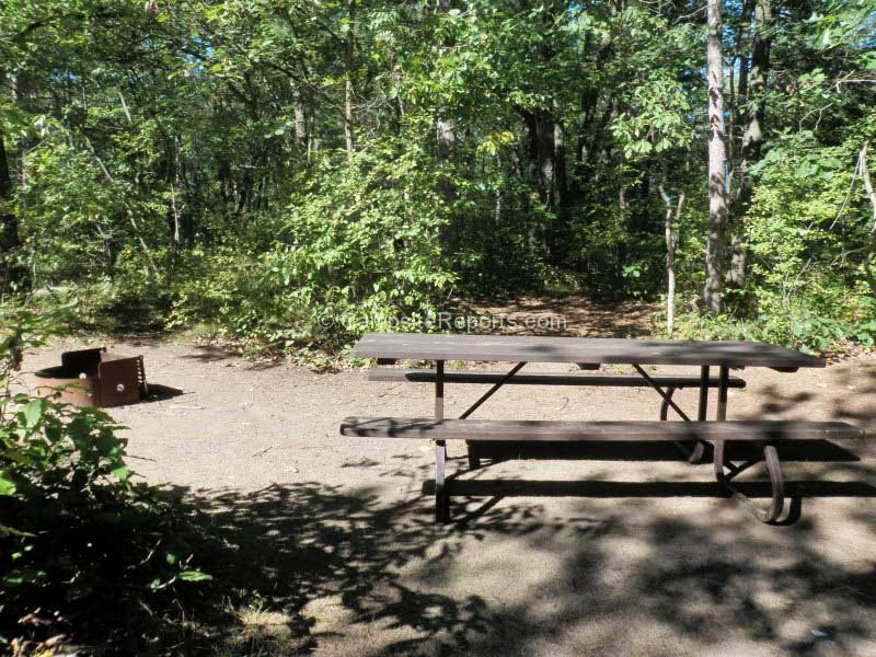 Campsite Ontario kamp