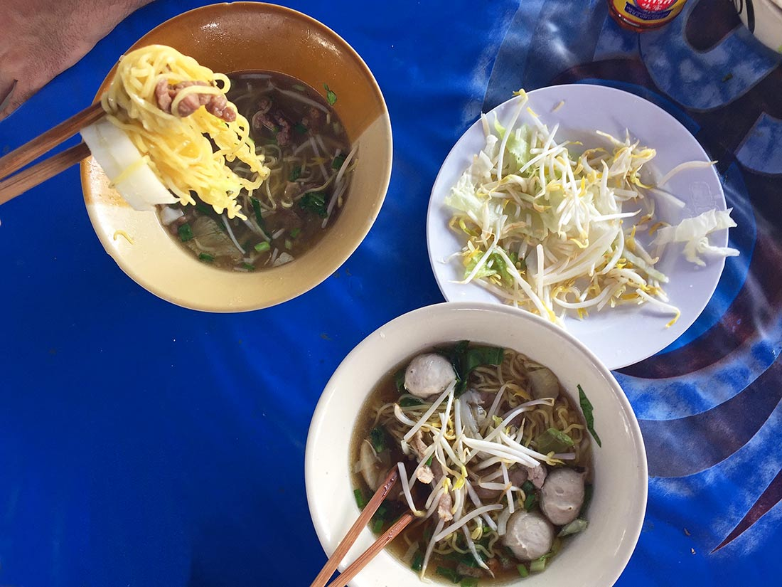 Tay çorbası (Thai soup)
