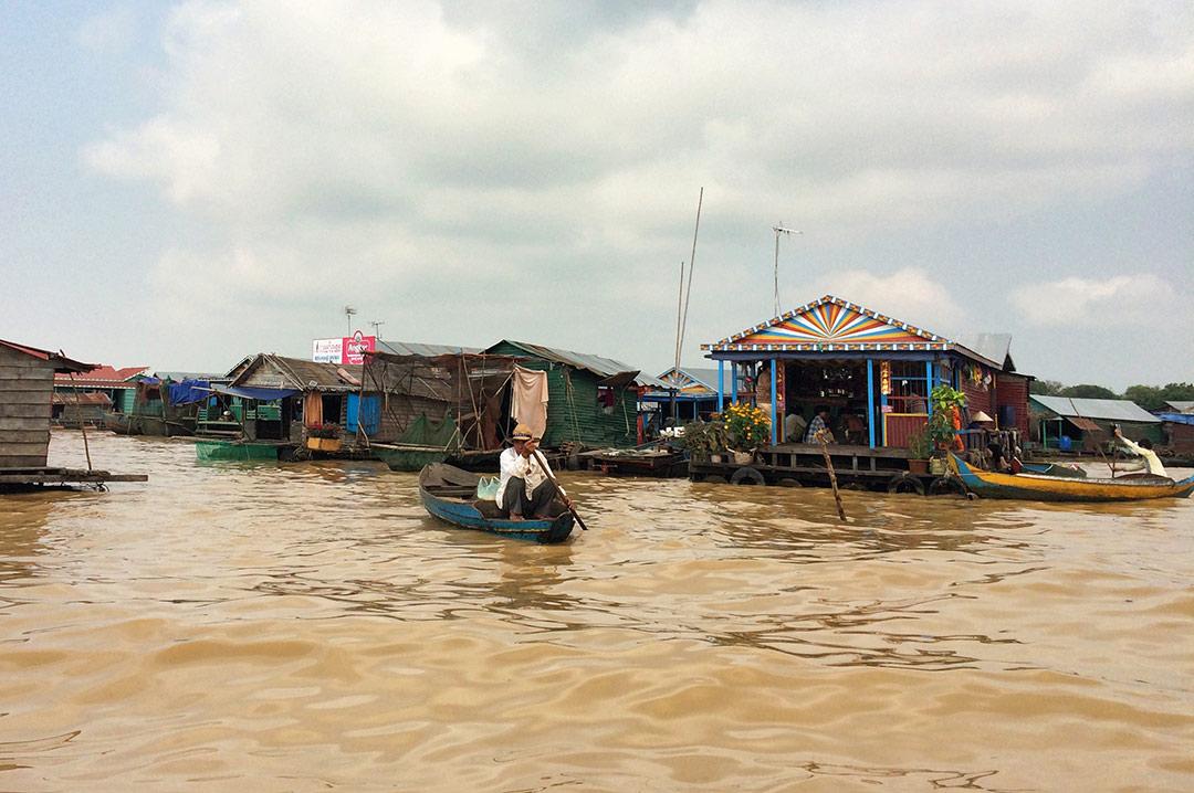 Yüzen Köy, Siem Reap