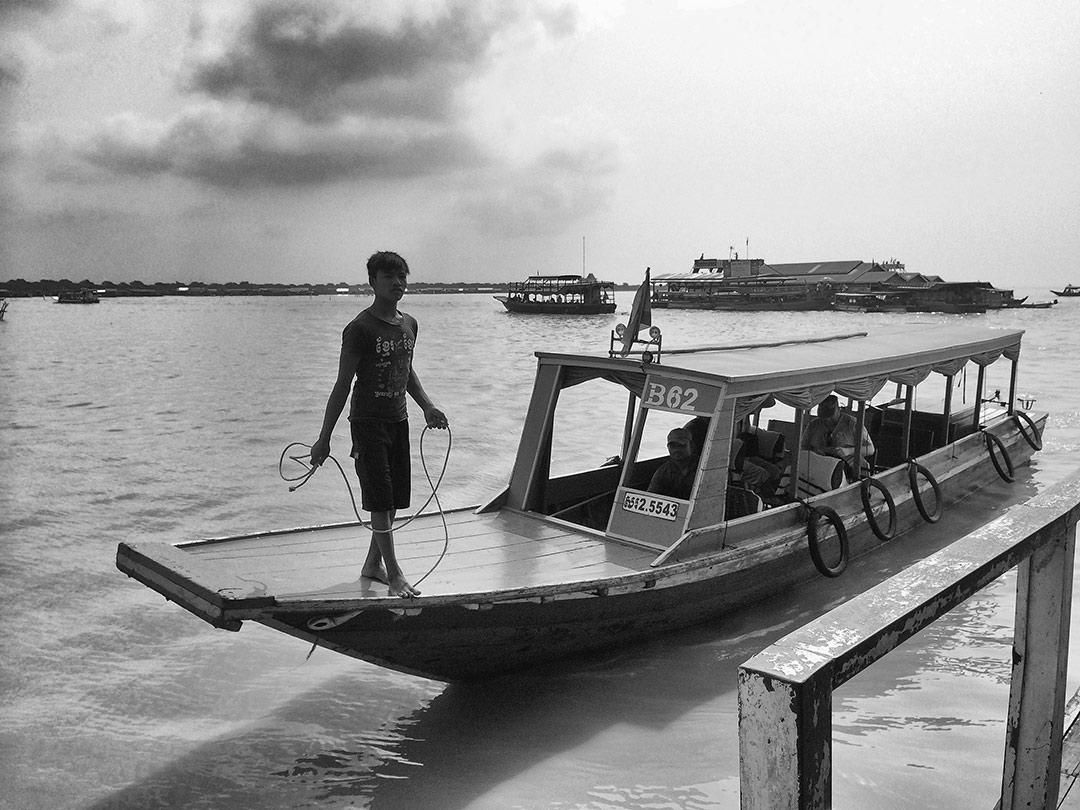 Chong Kneas Siem Reap Kamboçya