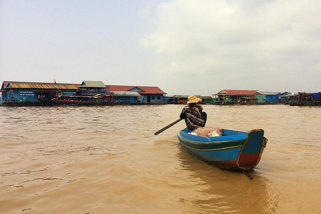 Yüzen köy, Tonle Sap Siem Reap