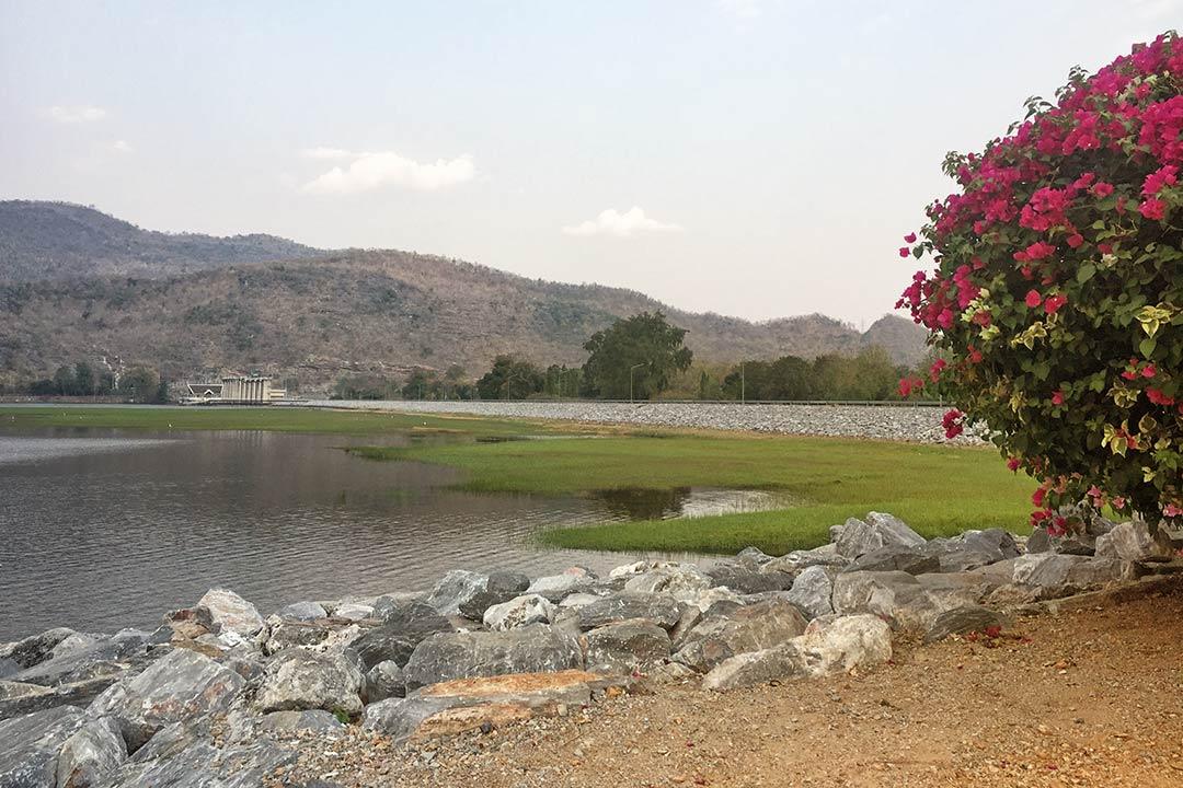 Tha Thung Tan Dam - barajı, Kanchanaburi