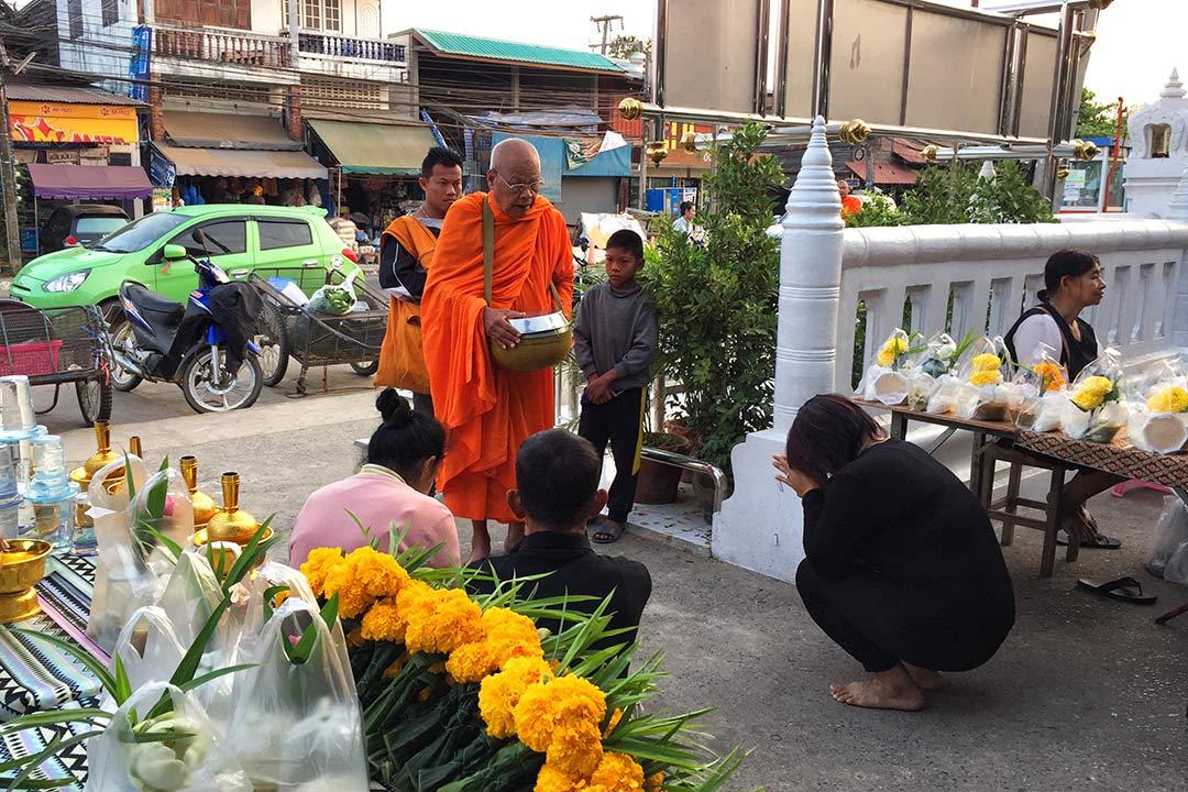 Sukhothai sabah pazarı