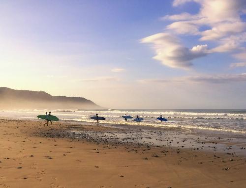 Santa Teresa'da Sörf Zamanı