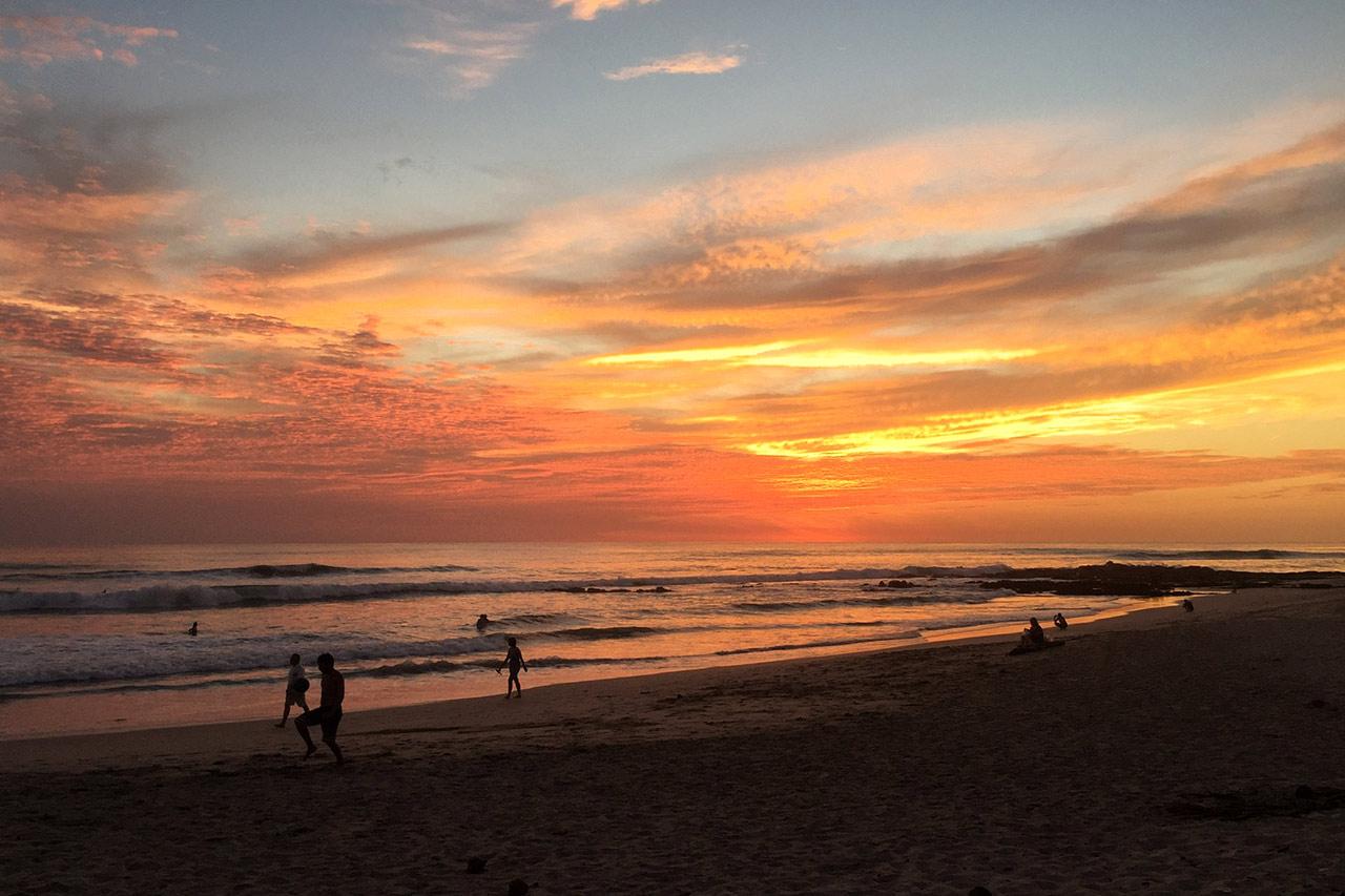 Gün batımı, Santa Teresa